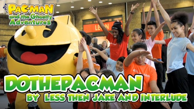do the pacman with less than jake
