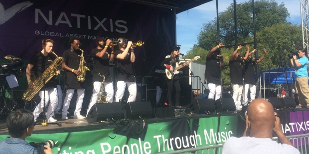 Alissia and the Funkateers Perform at the 2015 Berklee Beantown Jazz Festival