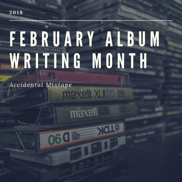 February Album Writing Month Cover Art